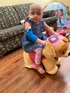 Laney rides stuff toy